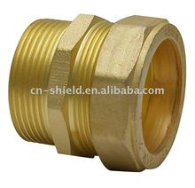 brass compression male coupling