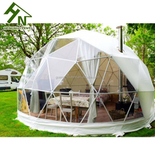 China Export Waterproof PVC Coated Outdoor Camping Yurt Dome Tent for Sale