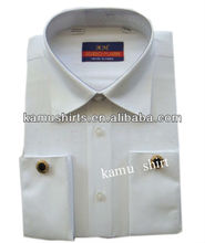 Mens white french cuff dress shirt man french cuff formal dress shirts