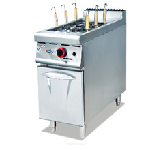 Stainless Steel Commercial cooking equipment Gas Elactric pasta maker machine With Cabinet