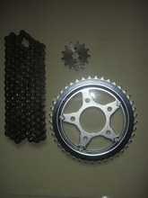 Motorcycle Transmission Sprocket and Chain kits for Brasil Honda CBX 200 STRADA/TWISTER for Brazil Market