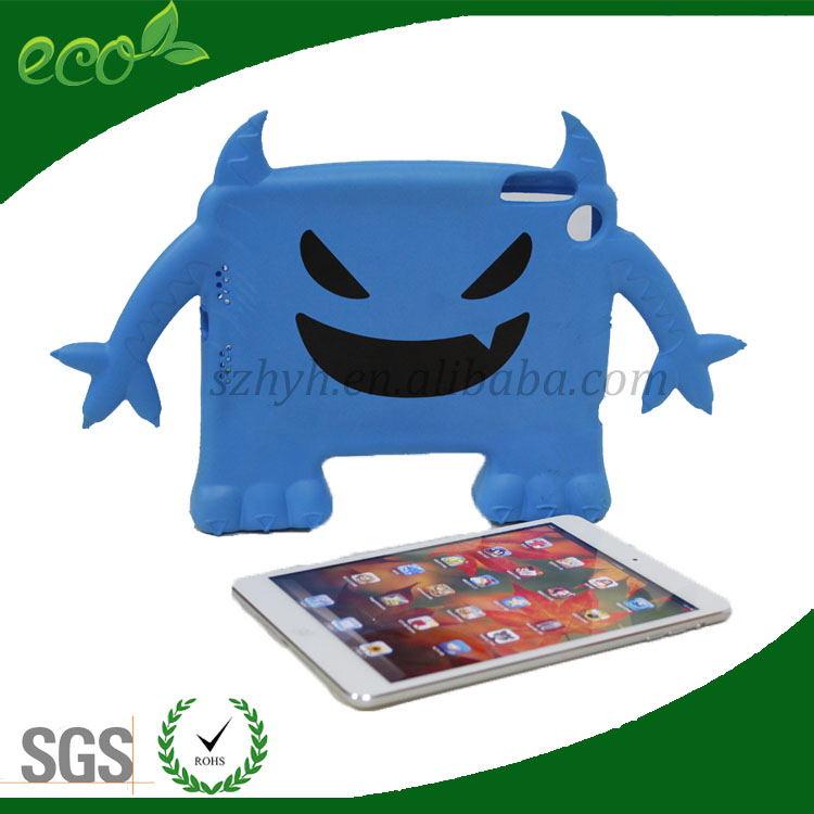 7.9 inch colorful waterproof dustproof rubber material tablet cover monster EVA tablet case for ipad mini