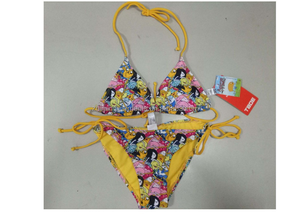 Fashion girl swimwear bikini