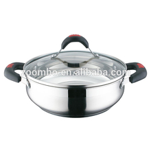 Hot Popular Stainless Steel Casserole And Cookware Set