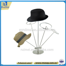 Table-Stand Novetly Metal Hat Holder Tree Shaped Hat Rack