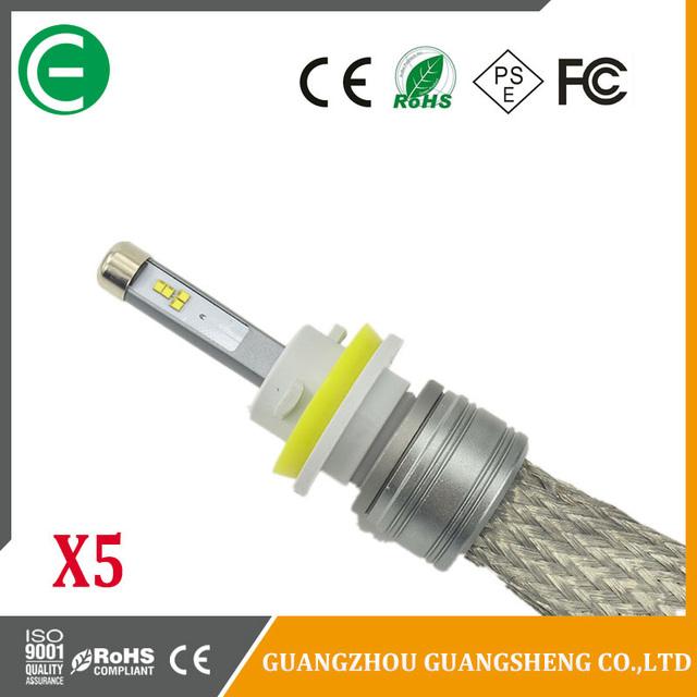Wholesale X5 COB Chip LED 48W 5400LM 9004 9007 Canbus Auto LED H1 H7 H4