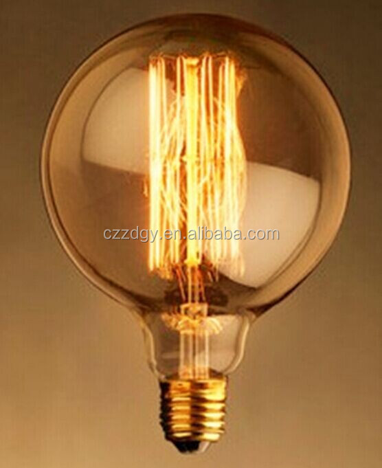 New 2015industrial vintage style lamp indoor style light fixture e27 40w vintage edison light bulb