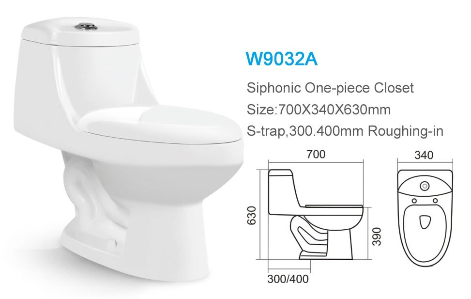 Ceramic water save one piece toilet commode for bathroom, View ...