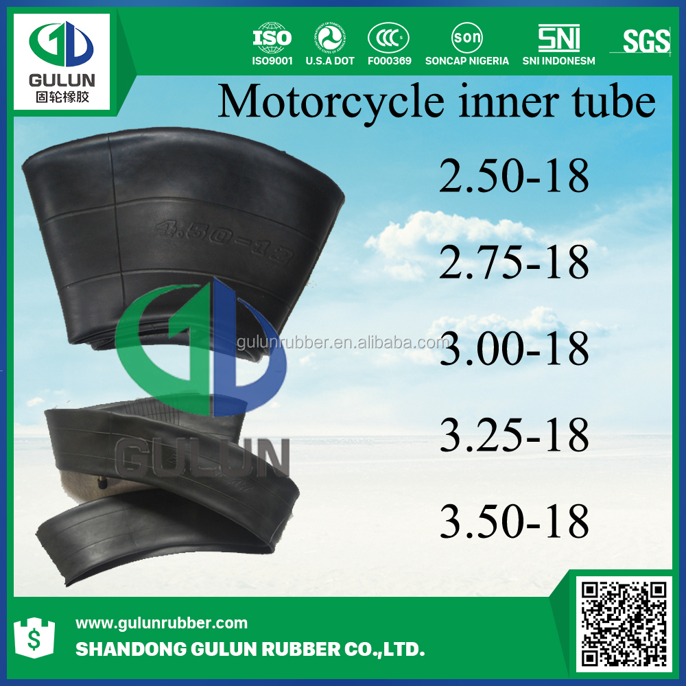 Super quality best selling brand chinese Motorcycle tyre inner tube 2.50-18 2.75-18 3.00-18 3.25-18 3.50-18