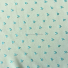Polyester Heart Dobby Designer Fabric for Brand Dress and Blouse