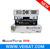 new 2014 satellite receiver smartone s500 support free iks+sks in stock