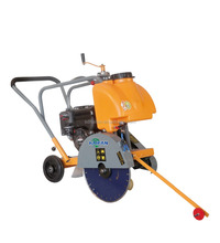Portable concrete floor saw cutter