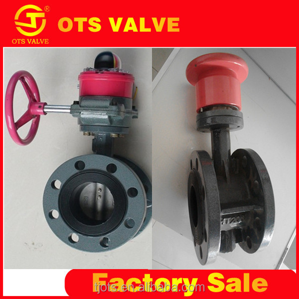 BV-LY-0123 D341X standard or nonstandard valve body casting flange connect butterfly valve manual or auto power