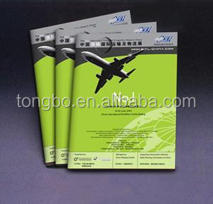 Customized Colorful Matt Lamination Company Ex Catalogue