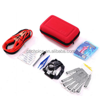 2016 Top Hot auto car first aid kit for vehicles/Road assistant kit, emergency survival kit/car emergency