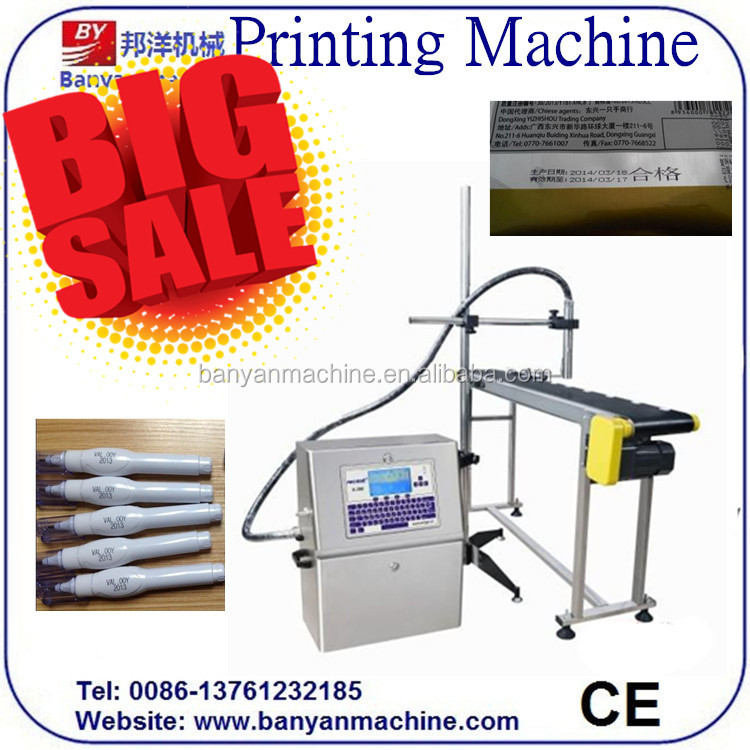 DISCOUNT!!! date code inkjet printing machine for plastic bottle/0086-18321225863