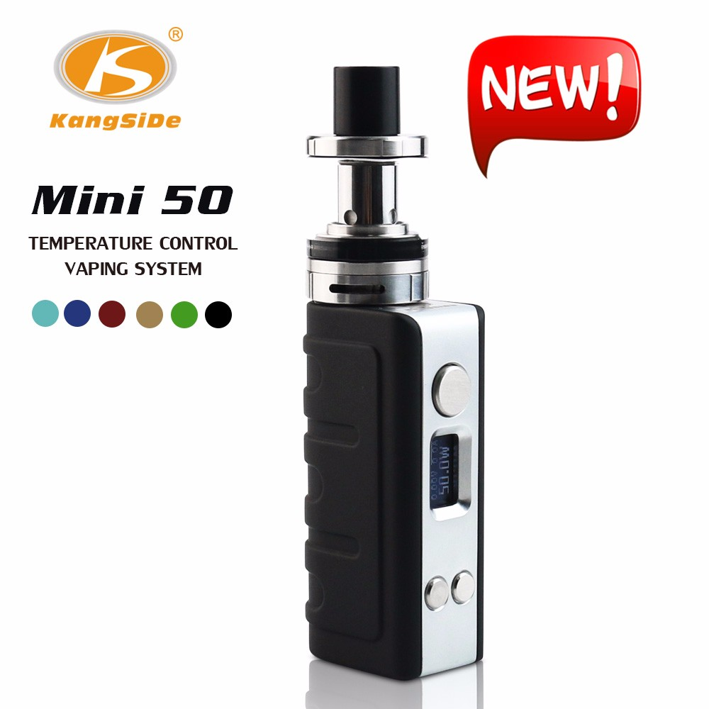 Newest arrival vape mods KSD mini50W e-cig from China supplier