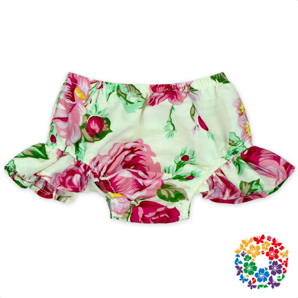 Latest Designed Floral Print Bloomers Kids Baby Boys & Girls Cotton Bloomers 0-2 Years Old Baby Bloomers Wholesale
