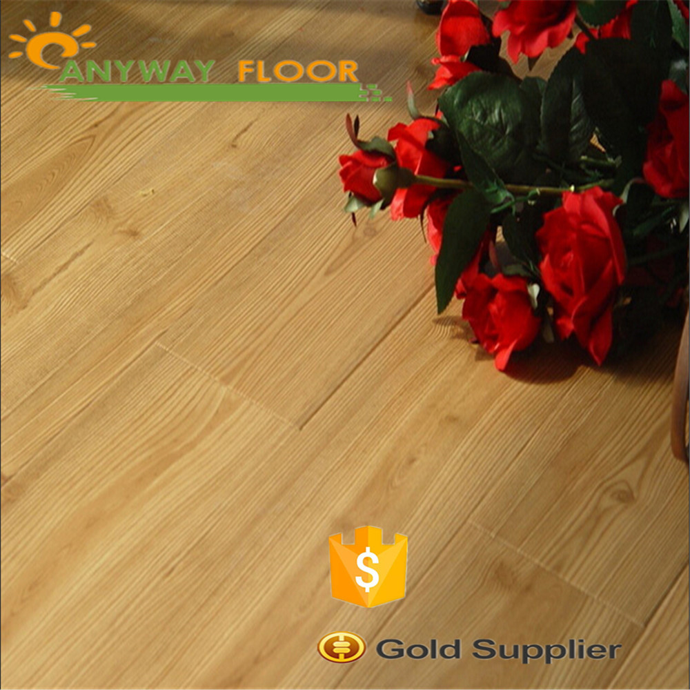 Indoor pvc vinyl flooring with sponge backing wood plastic Manufacture