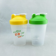 Plastic Mixer Protein Smoothies Shakers Mix Powders Shaker Bottle