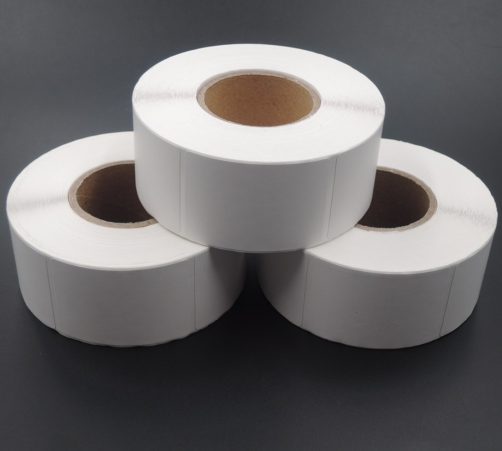 35x50mm high temperature resistance removable thermal <strong>label</strong> for sell