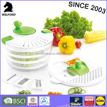 High quality vision salad spinner mixer Salad spinner with multi grater