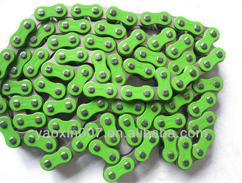 Colored Motorcycle Chain roller chain,colour chain ,420,428,520,530colour chain
