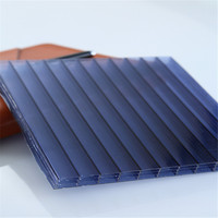 12mm thick 4 layers U-lock Translucent Polycarbonate Plastic Sheet for Bending Roof