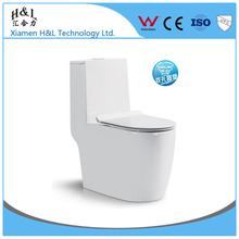 European Elegant design save water P-trap S-trap floor mounted water closet one piece wc toilet