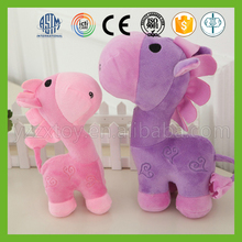 OEM pp cotton stuffed cheap large plush toy horse for kids