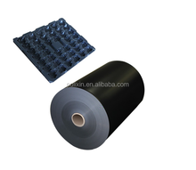 electric conductive 0.45mm black PP sheet