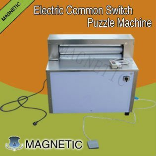 A3 size jigsaw puzzle cutting machine
