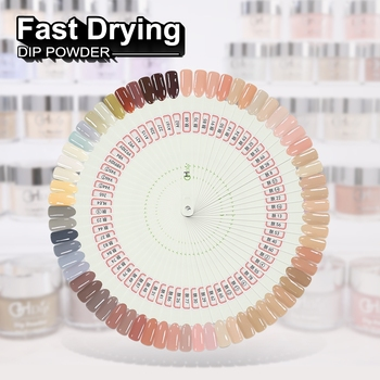 Custom Private Label Nude Color Acrylic Dip Powder Nails System