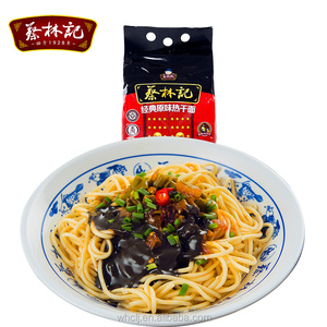 Hot selling quick cooking Organic Gluten Chinese flavor noodles