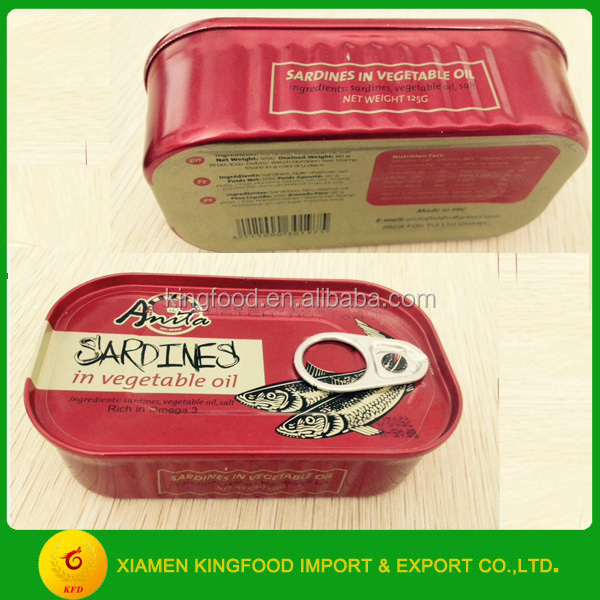 Kosher Canned Sardine in Club Can in Oil