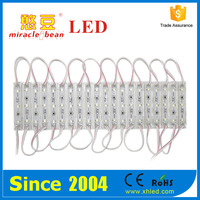 hot sale Double sided/ single sided light box 3 chips 2835 smd led module backlight