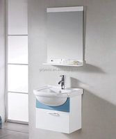 PV826 living bathroom furnitures designs wash basin mirror cabinet