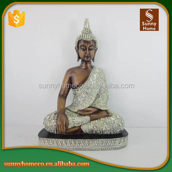 Newest Design Custom Resin Large Buddha Statues for Sale