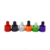 food grade essential oil liquid 15ml 30ml 50ml 60ml 100ml red white aluminum dropper bottle with childproof cap