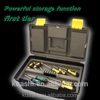 strong plastic hard case tool box for truck with locks