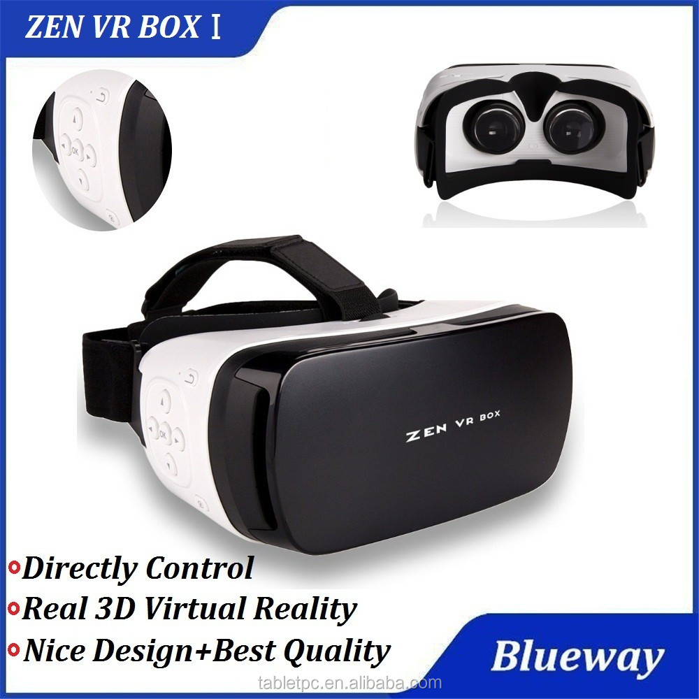 2016 ZEN VR Box I 3D Virtual Reality, Open Sex Video 3d VR Box, Photography Head Mount VR For 4.5 - 5.5 inch Smartphone