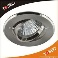 GU10 MR16 halogen downlight zinc alloy 3w led ceilling light