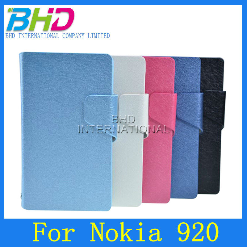 5 color to choice,PU Leather Case for Nokia Lumia 920,Wallet Style