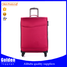 china products online shop suitcase stock bright colors travel luggage 1680d polyester trolley luggage