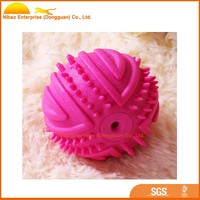 Perfect toy rubber squeaky ball for your dog