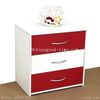 simple wooden grain melamined MDF particle board cheap Modern large simple Modern used chest of drawers