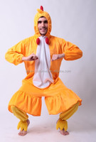 Party rooster costume carnival animal man chicken cosplay costume