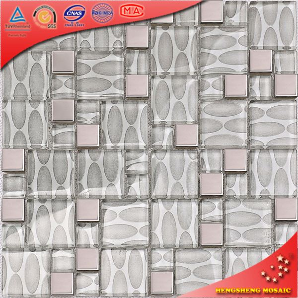 AE41 Handmade Wall Tiles Free Mosaic Flower Patterns Marble Design Tile