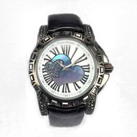 Vogue Stainless Steel Back Lady Watch Fancy Watches Alloy Case Watch