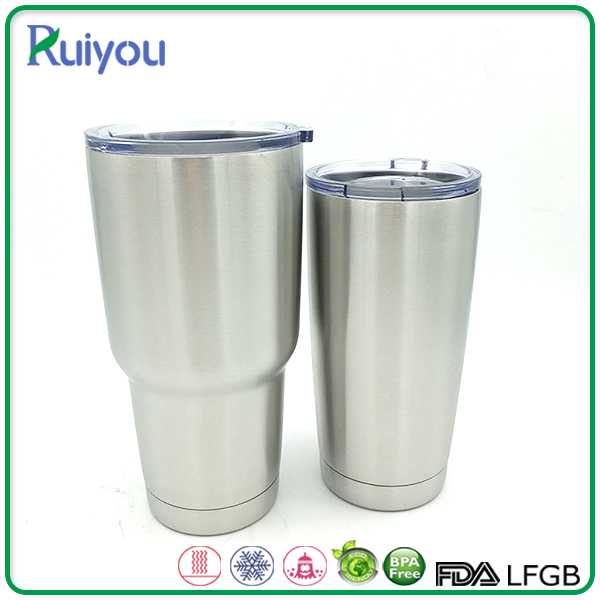 20 oz stainless steel double wall travel vacuum cup for beer drink